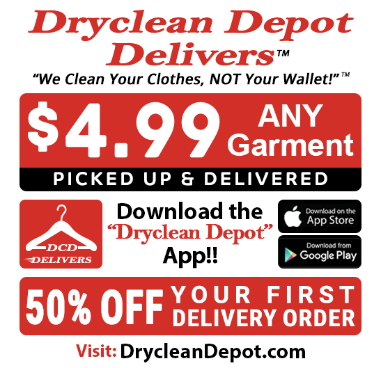 Dryclean Depot Dry Cleaners Near Me Picked Up Delivered